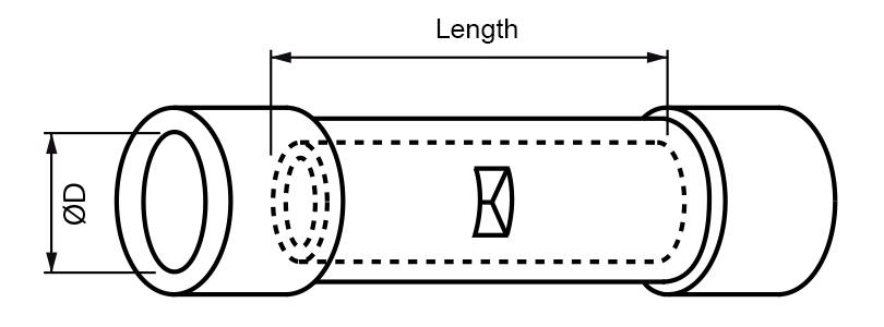 vinyl butt connector